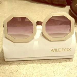 Wildfox white sunglasses 😎